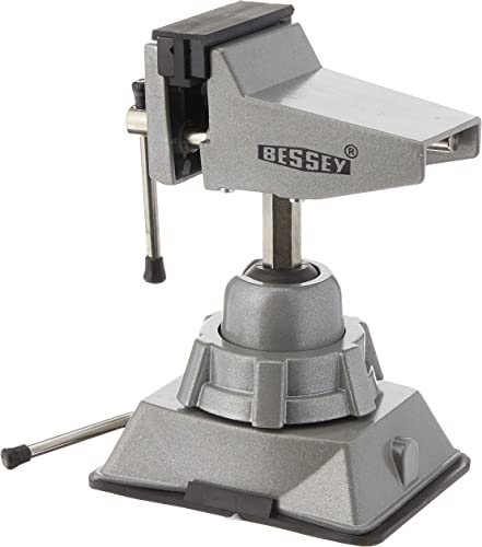 lowest Bessey discount - BESSEY BV-VB BVVB Vacuum new arrival Base Vise,Silver outlet sale