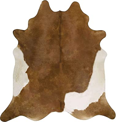 Palomino White And Beige Cowhide Rug 5ft X 7 Ft 150cm X 210 Cm Furniture Decor