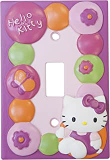 Lambs & Ivy Hello Kitty Garden Switch Plate, Pink (Discontinued by Manufacturer)