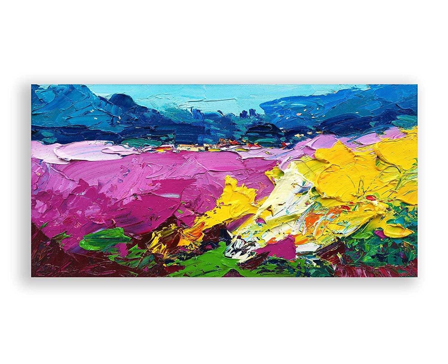Abstract Painting on Canvas Original Popular brand in the world shipfree Art Landscape L