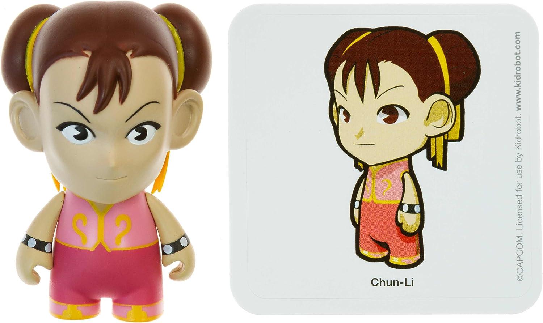 ChunLi 1  Street Fighter x KidRobot 3  MiniFigure Series