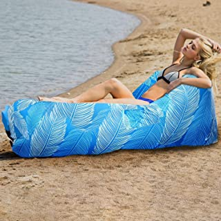 Crivit/® Airlounge Luftsofa Air Sofa wasserabweisend und rei/ßfest f/ür Strand Camping Strand und Festivals