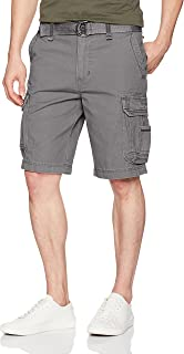 UNIONBAY Men's Survivor Belted Cargo Short-Reg Big & Tall Sizes