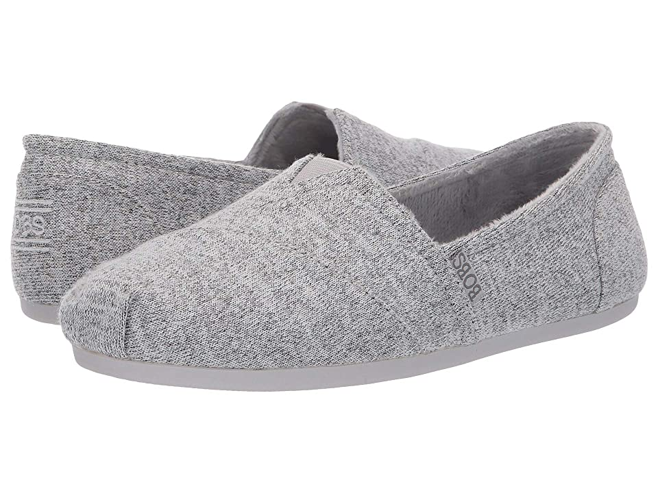 BOBS from SKECHERS Bobs Plush Winter Surprise (Light Gray) Women