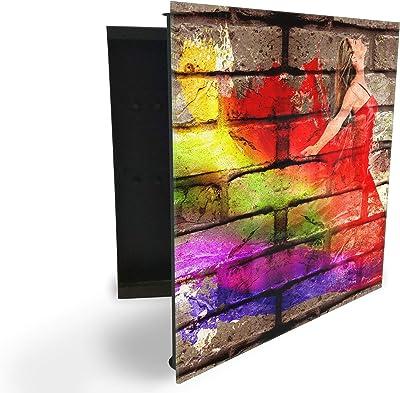 GlassArtist HMF 51576998 - Caja para Llaves (30 x 30 cm, con ...