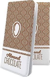 AQUOS Compact SH-02H ケース 手帳型 カカオ 花柄 花 フラワー アクオス コンパクト 手帳型ケース かわいい 可愛い kawaii lively SH02H AQUOSCompact チョコ チョコレート