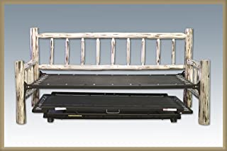 Montana Woodworks Collection Day Bed with Pop up Trundle, Ready to Finish