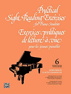 Sight Reading Exercises for Piano Students-Bk 6