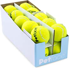Petface Single Dog Tennis Balls, Yellow