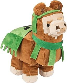 JINX Minecraft Adventure Llama Plush Stuffed Toy, Brown, 11.5