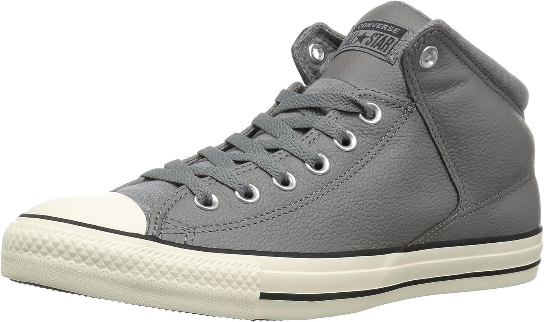 Converse Mens CTAS High Street Hi Mason Black Egret Sneaker