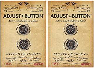 Bristols 6 Adjust-A-Button for Denim-2 count