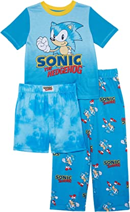 Sonic Three-Piece Short Sleeve Set (Little Kids/Big Kids)