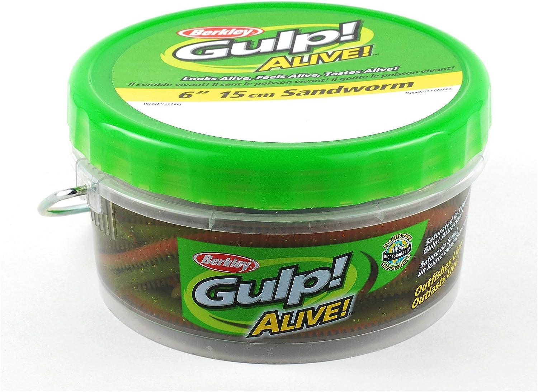 Berkley Gulp Alive Sandworm Bombing new Branded goods work 6-Inch Camo