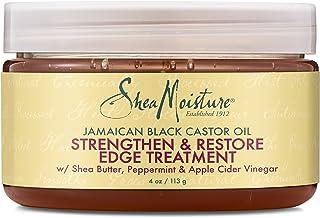 SheaMoisture 4 oz Jamaican Black Castor Oil Strengthen, Grow & Restore Edge Treatment