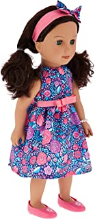 Hayati Girl 18 inch Jeedah Fashion Doll Jeedah in Floral Dress, multi-colour, TP100175