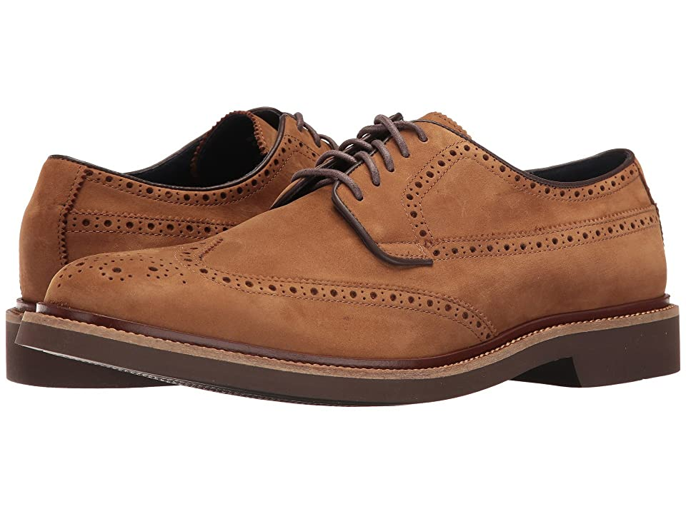 Cole Haan Briscoe Wing Oxford (Bourbon Nubuck) Men