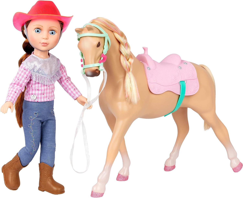 Nippon regular agency Glitter Girls Dolls by Battat Doll – National uniform free shipping Poseable 14-inch Equestrian