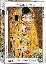 Gustav Klimt The Kiss 1000 Piece Jigsaw Puzzle by Eurographics