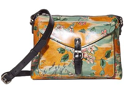 Patricia Nash Avellino Top Zip (Beautiful Girl Print) Bags