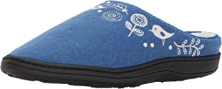 Women's Talara Slipper, Heathered Blue, 8-9 M US