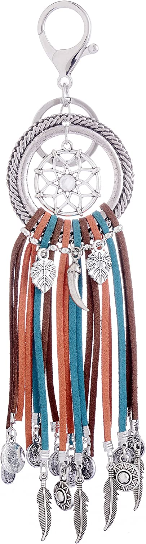 Giftale Handbag Vintage Charms Backpacks Retro Key Ring Purse Indian Keychain,