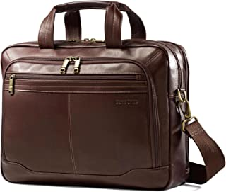 samsonite mens leather classic flap briefcase