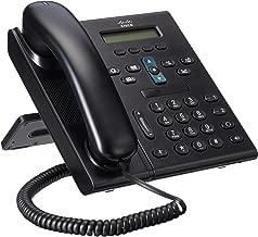 Cisco CP 6921 2-Line Office VoIP Phone (CP-6921-C-K9) (Renewed)