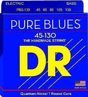 DR Strings PURE BLUES Bass Guitar Strings (PB5-130)