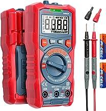 AstroAI Digital Multimeter, 4000 Counts TRMS Auto-Ranging Volt Meter 1.5v/9v/12v Battery Voltage Tester Measure Voltage Cu...
