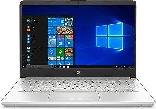 HP Laptop, 14 Inch HD Scherm, Celeron N4020 dual, 4GB RAM, 128GB SSD, Windows 10, 14s-dq0210nd, Zilver