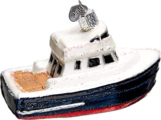 Old World Christmas 46078 Ornament, Charter Boat