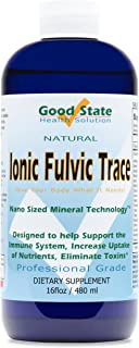 Good State | Ionic Trace Minerals with Fulvic Acid | Great for Boosting Immune System | 96 Servings at 125 Mg | 16 Fl oz B...