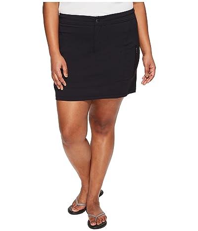 Columbia Plus Size Just Right Skort (Black) Women