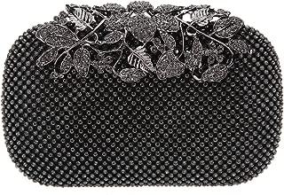 Best dark grey glitter clutch bag Reviews
