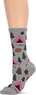 Women's The Outdoors Novelty Crew Socks