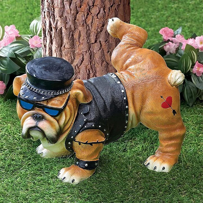 Tough Guy Ranking TOP7 Dog Peeing Statue Decor Gnomes Funny San Jose Mall Resin Garden