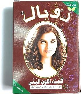 Royal henna Herbal Base Powder Dye - Chestnut Henna - 60G (6 x 10gm)