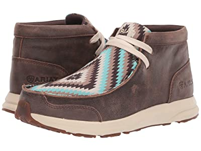 Ariat Spitfire (Vintage Bomber/Turquoise Tribal) Women