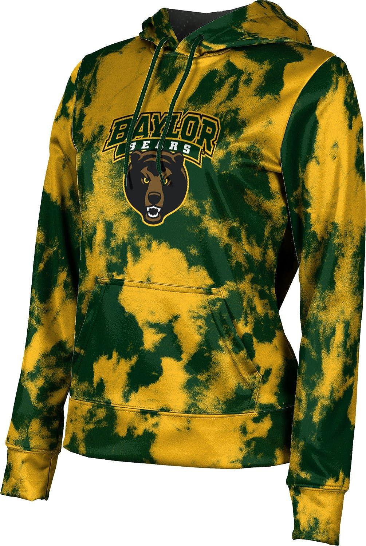 ProSphere Baylor University Girls' Pullover Hoodie, School Spirit Sweatshirt (Grunge)