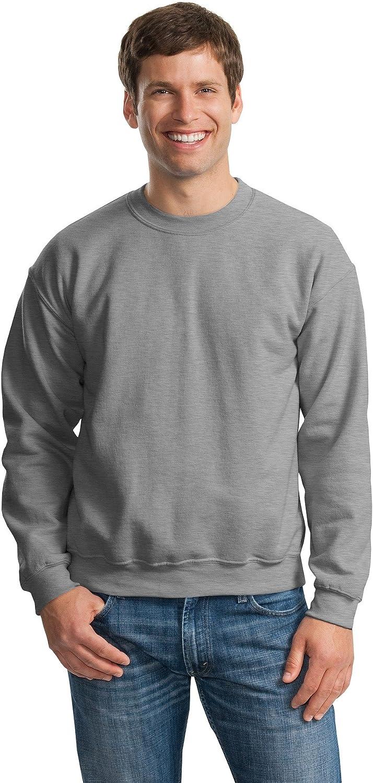 Gildan Activewear 50/50 Crewneck Sweatshirt, XL, Sport Grey