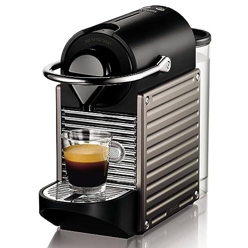 Nespresso Intenso Krups Pixie XN3005 Cafetera de cápsulas de 19 bares con 2 programas de café