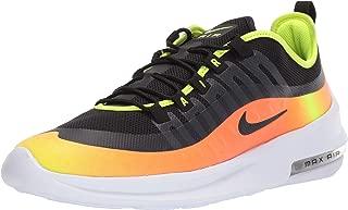 Nike Men's Air Max Axis Premium Running Shoes, Black/Wolf Grey