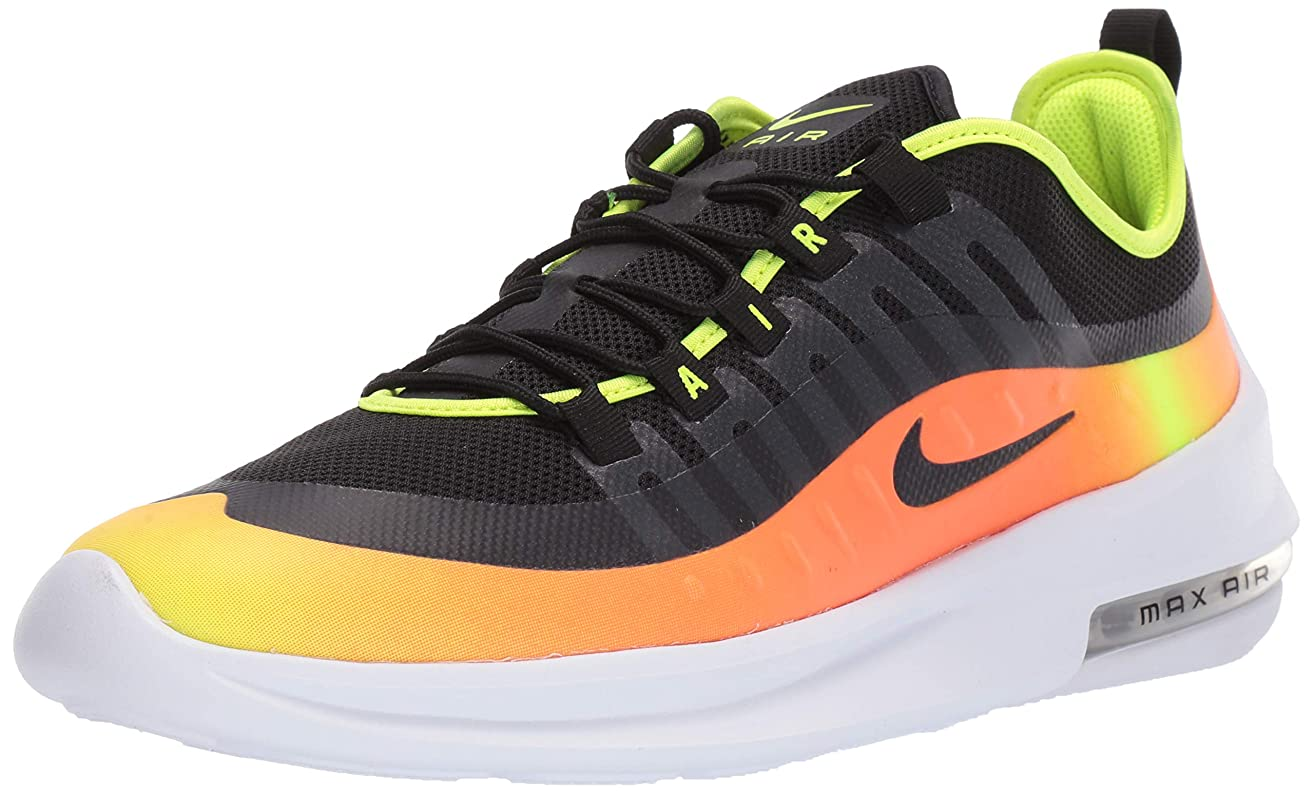 Nike Men's Air Max Axis Premium Black/Volt/Total Orange Size 11.5 M US