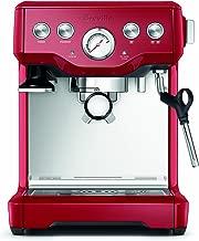 Breville BES840CBXL The Infuser Espresso Machine, Cranberry Red