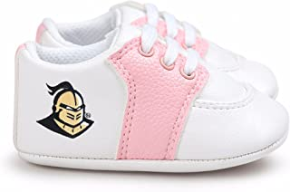 Future Tailgater UCF Central Florida Knights Pre-Walker Baby Shoes - Pink Trim