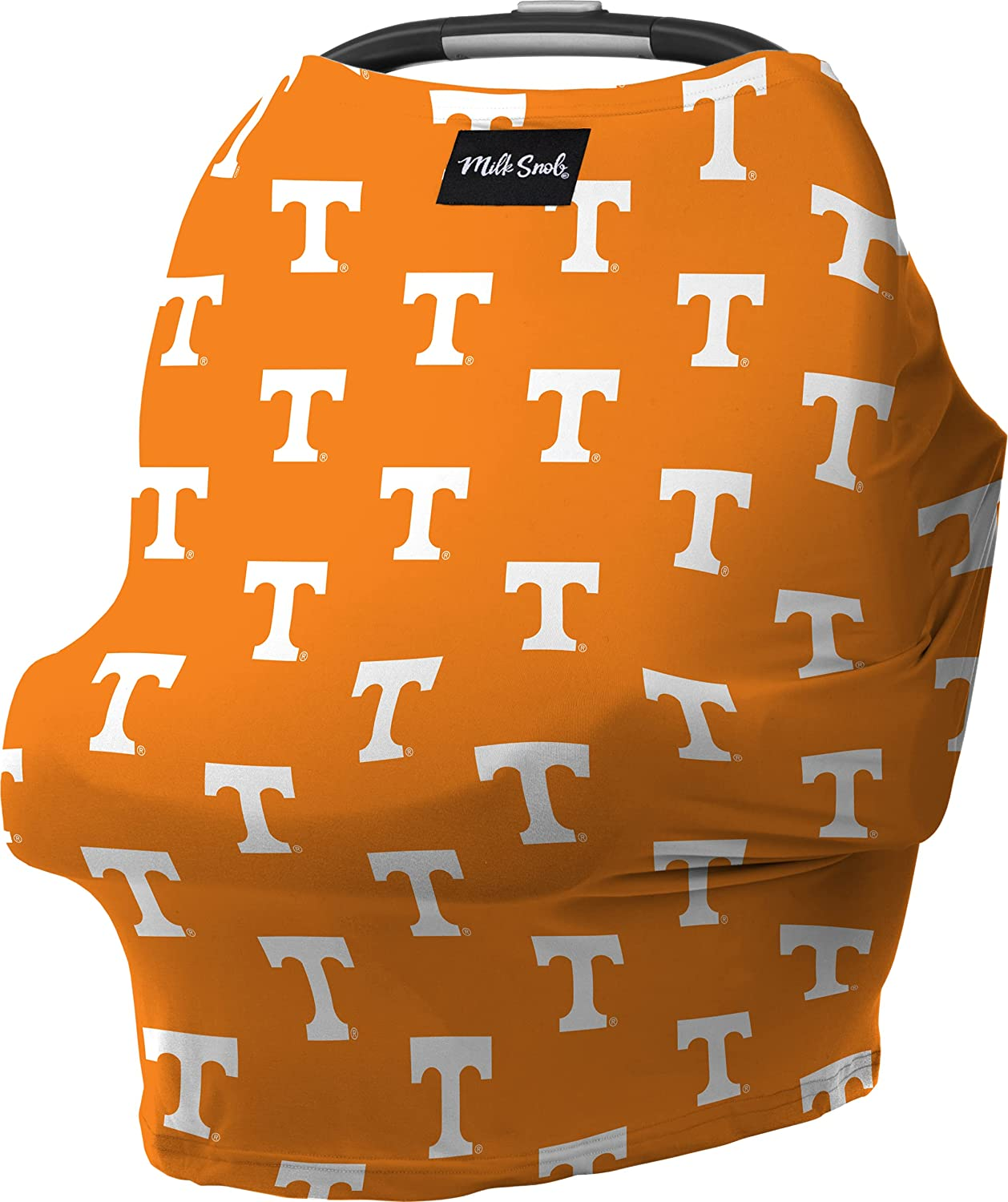 Milk Snob ORIGINAL 5-in-1 Cover Texas A&M Collegiate Collection, Privacy for Breastfeeding, Baby Car Seat, Carrier, Stroller, High Chair, Shopping Cart, Lounger Canopy, Newborn Essentials, Nursing Top