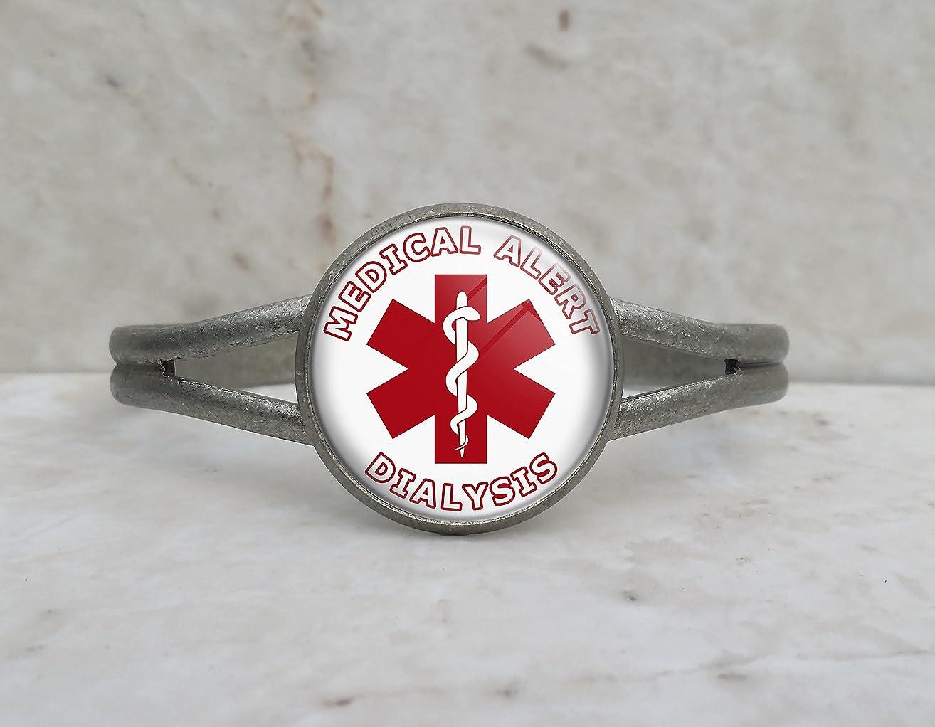 Medical Alert Dialysis Cuff Bracelet