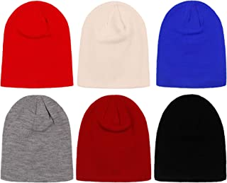 2ND DATE Women's Winter Beanie Knit Hat- Pack of 6