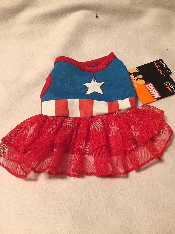 Marvel Captain America Dress XS